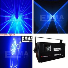 Pro Version 3W RGB Full Color Animation Laser Projector Stage Lighting DJ SDCard(China (Mainland))