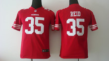 All stitched Youth San Francisco 49ers Kids children #35 Eric Reid #80 Jerry RICE #82 Torrey Smith 81 Anquan Boldin(China (Mainland))