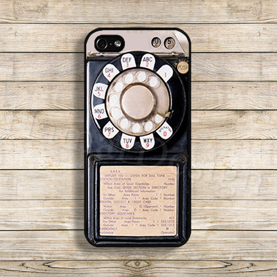 Classic Vintage Payphone phone case for iphone 5 5s 6 6 plus Coque case cover(China (Mainland))