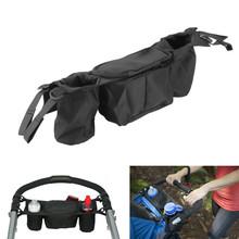 Multifunctional Baby Stroller Organizer Baby Pram Buggy Cart Bottle Hanging Basket Storage Bag Stroller Accessories FCI#
