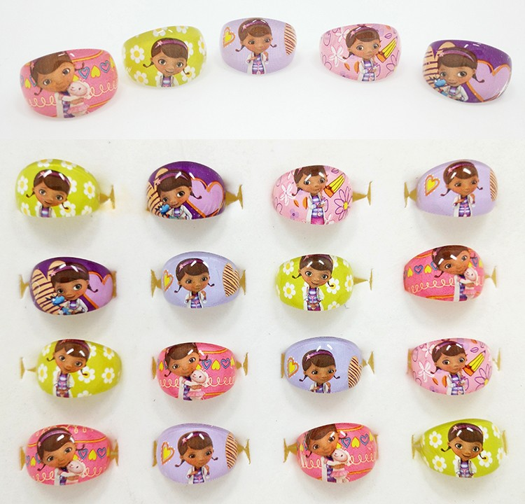 New 20Pcs Wholesale Mixed Lots lovely Cartoon Negro Doctors Children/Kids Resin Lucite Rings Free Shipping Jewelry shop