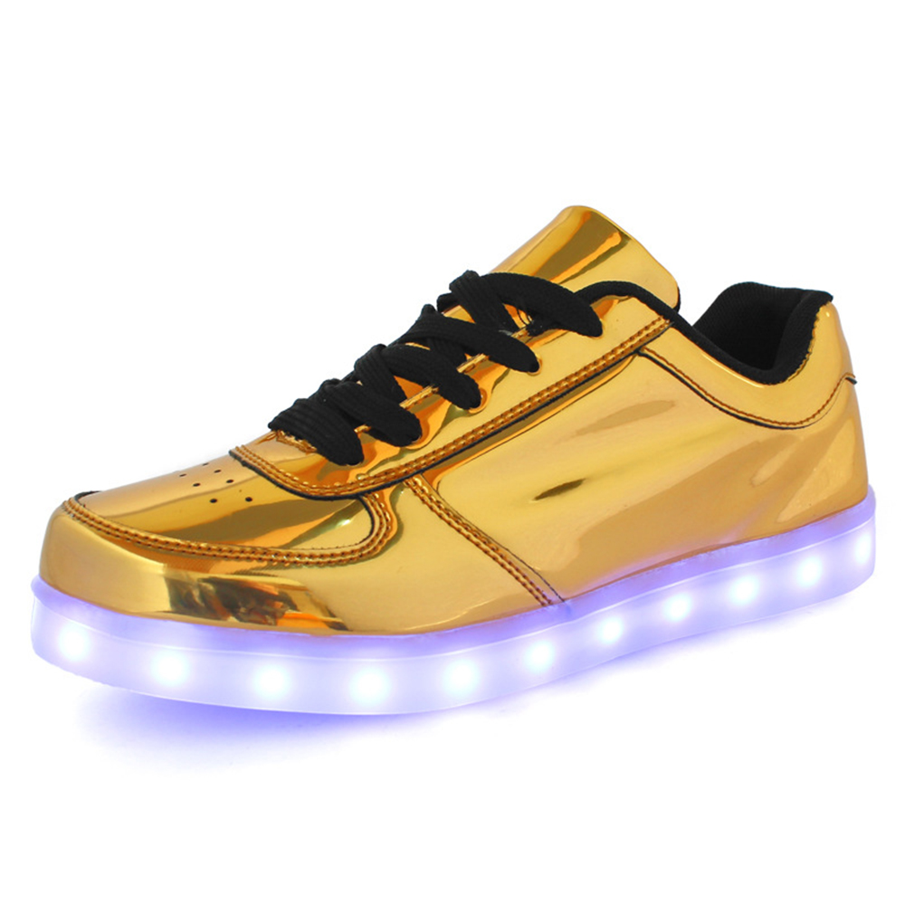 2016 dogeek silver glod led shoes for and light