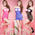 Women sexy lingerie hot mesh l temptation to hollow out skirt new strange clothes and special