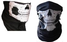 HOT Cool Tubular Skull Ghosts Ghost Mask Bandana Motor bike Sport Scarf Neck Warmer Winter Halloween For Motorcycle(China (Mainland))