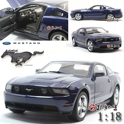 1:18 Ford Mustang GT edition alloy model car kids toys children Christmas gift car Decorate\collect Simulation(China (Mainland))