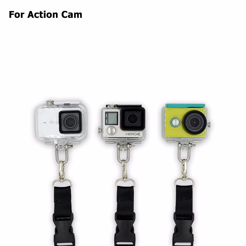 Camera Saftey Sling Strap for Xiaomi yi 2 4k Gopro Hero 4/3+/3/2/1 SJCAM SJ4000 SJ5000 M20 Eken H9R Action Camera Accessories