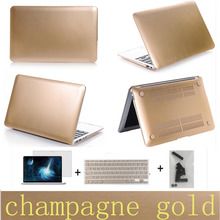 Free shipping three gifts Matte notebook cover laptop case pro 13 15 air 11 13 retina 13 15 protective sleeve/shell for macbook(China (Mainland))