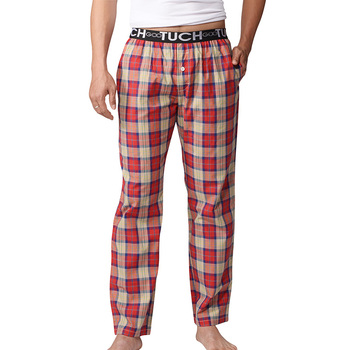 Hot Sale Pajama Pants Men Underwear Trousers Sleep Bottoms Plaid Mens Lounge Pants Pantalon Piyamas Jovenes Pijama Gootuch 2505