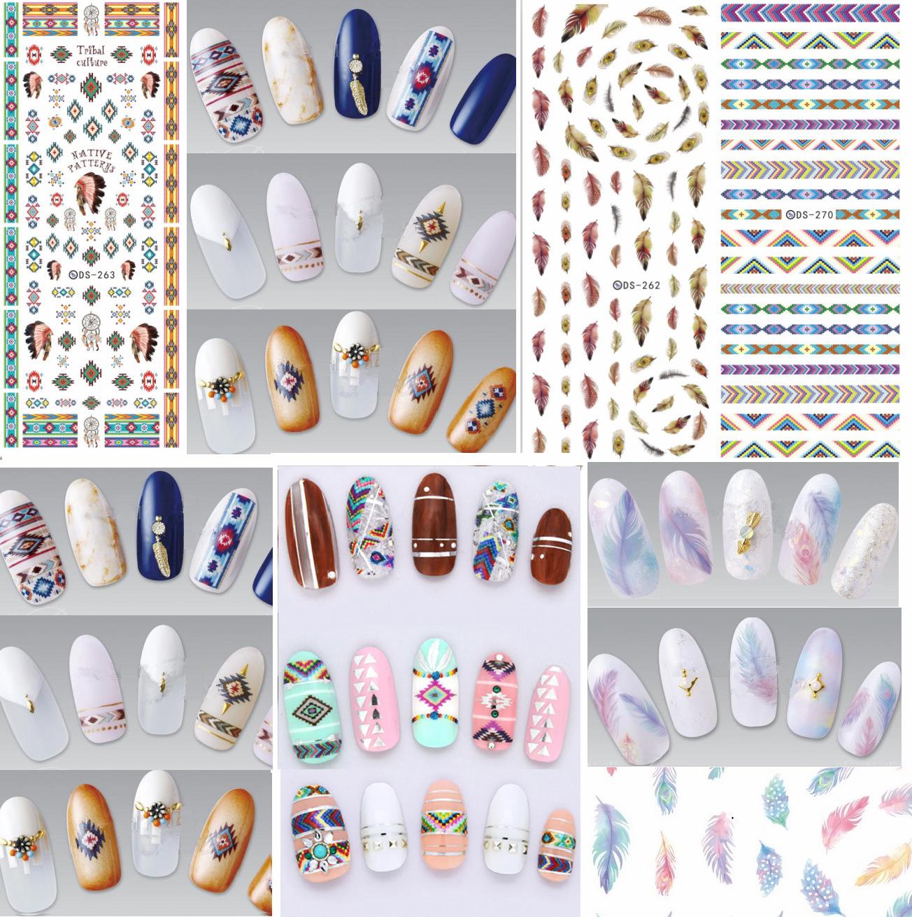 Manicure watermark Sticker Decal Sticker DS257 271 Japan Manicure Nail Sticker