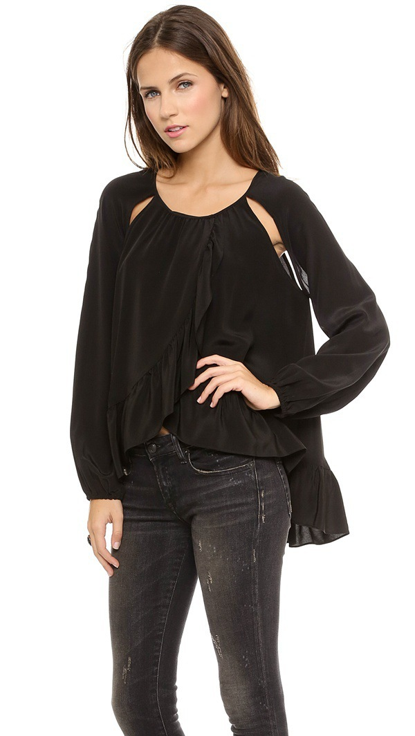 Open Shoulder Top Plus Size Open Shoulder o Neck Tops