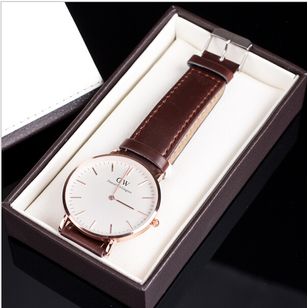 Daniel Wellington Watches Women Luxury Brand Watch DW Watch Dress Leather Strap Style Wristwatch Relojes Mujer