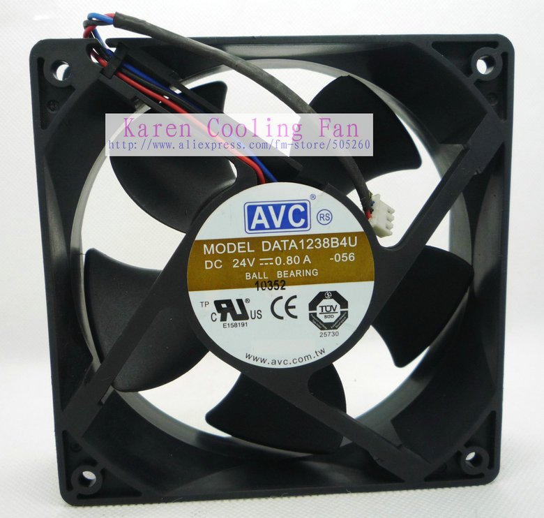 12038 24V 0.8a DATA1238B4U Cooling Fan<br><br>Aliexpress