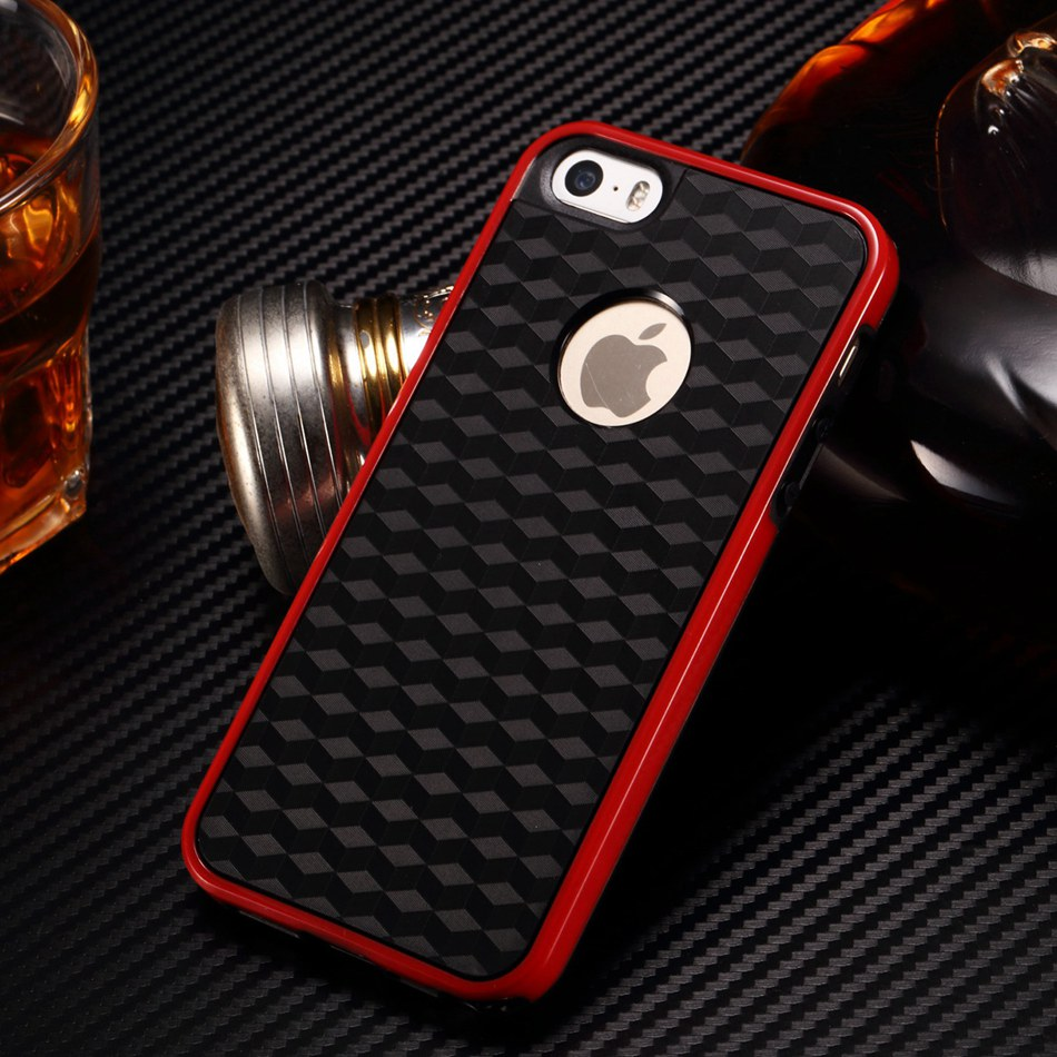 product Fashion Hybrid color Soft Rubber Cover for Apple iPhone 5 5s Silicone gel Phone case 1pc free shipping