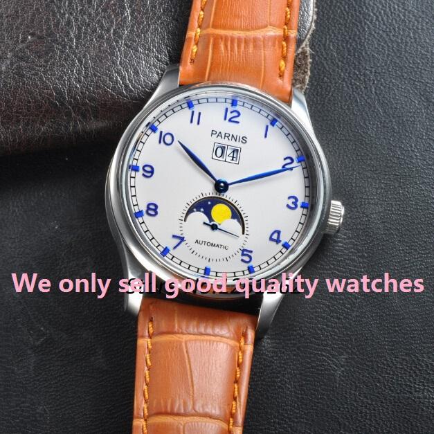 PARNIS 44mm seagull automatic machinery movement watches men Fashion 2015 new fashion