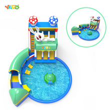 Giant Inflatable Slide with Swimming Pool Amusement Equipment Water Park(China (Mainland))
