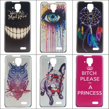 Lovely Painting 10 patterns PC High Quality classic Hard Cover Case for Lenovo A536 Back fashion Cases