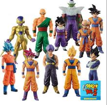 Buy Dragon Ball Z Action Figures DXF Goku Gohan Vegeta Super Saiyan DBZ Model Toys Anime Dragon Ball Kai 12-15cm for $8.44 in AliExpress store