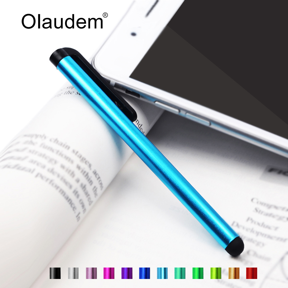 Capacitive Touch Stylus Pen for iPad Mini iPhone 4 4S 5 5S Samsung Galaxy Note 2 3 4 N9100 for Xiaomi Lenovo Phones Tablet TP001(China (Mainland))