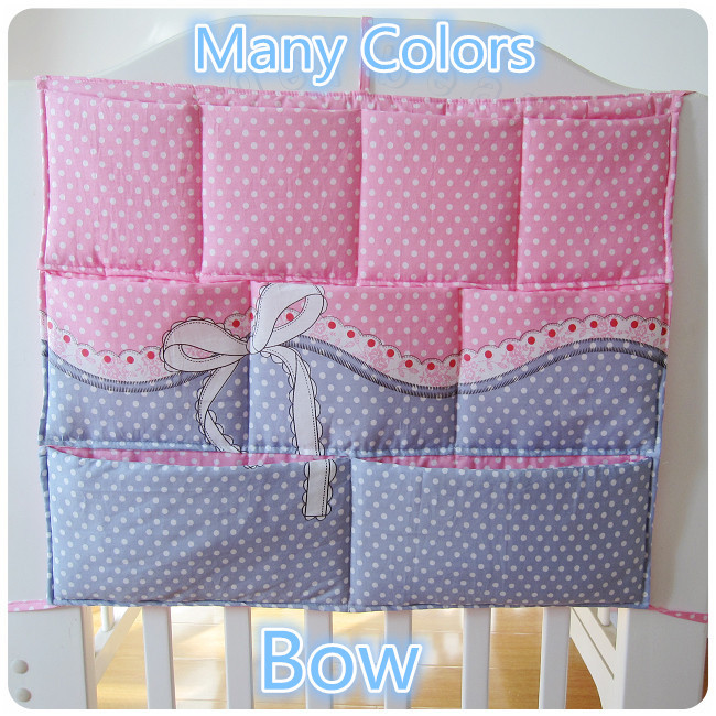 Promotion Kitty Mickey 62 52cm font b Baby b font Bed Hanging Bag Storage Bag Newborn
