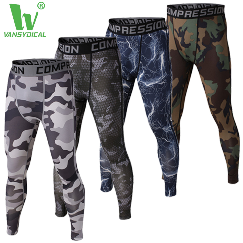 Mens compression pants sports running tights basketball gym pants bodybuilding jogger jogging fitness skinny leggings trousers(China (Mainland))