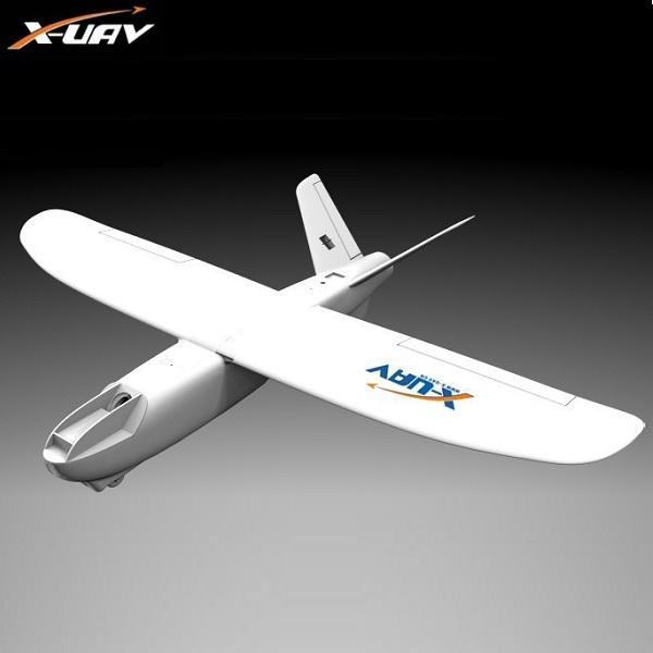 X-uav Mini Talon EPO 6CH 1300mm Wingspan V-tail FPV Rc Model Airplane Aircraft Kit(China (Mainland))