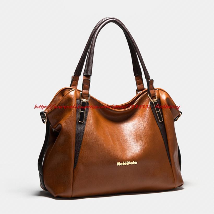 Hot Sale Women Handbag Vintage Shoulder Bag Fashion Brand Women PU Leather Handbag Retro Women Messenger Bag Oil Wax Bolsas Tote(China (Mainland))