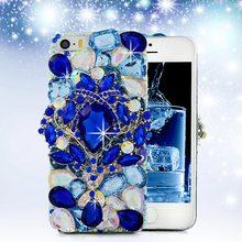 Buy 5 5S SE 3D Luxury Bling Crystal Diamond Rhinestones Case Back Hard Cover iPhone 5 5S SE 5G Handmade Plastic Protective Skin for $7.38 in AliExpress store