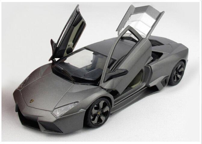 1pcs Super Cars Toys Reventon Automobili S.p.A Gallardo Miura Classical 1:24 Diecast Metal Boy Miniature Model Gift Collection(China (Mainland))