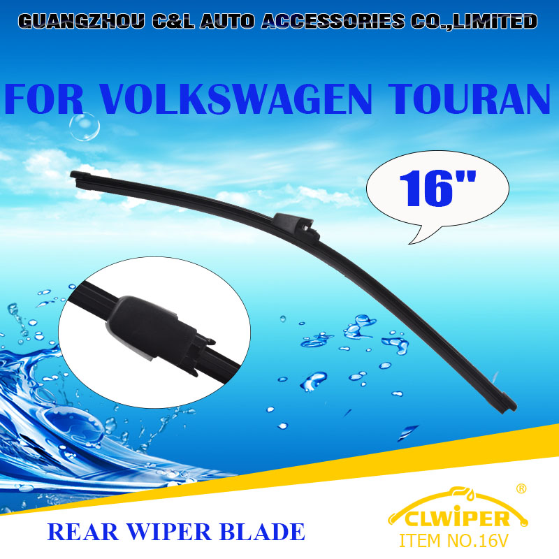 "For VOLKSWAGEN TOURAN, Exclusive Rear Car Windshield Windscreen Wiper Blade 16"" Fast shipping Cars styling accessories(China (Mainland))"