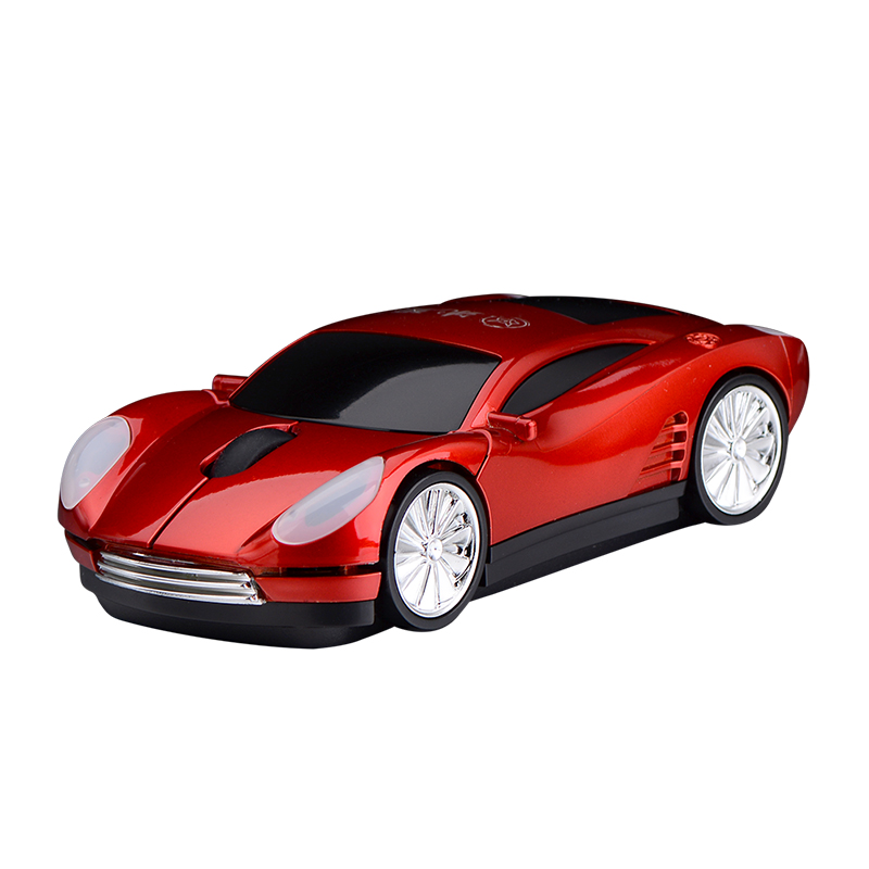 Super Sports Car Rechargable Mouse 1600 DPI Ferrari Car Shape Mouse Racing upmarket car Wireless Mice for Gaming/Computer/Laptop(China (Mainland))