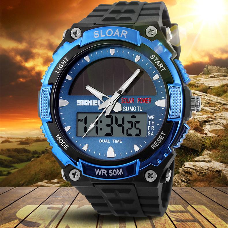 Skmei watches men luxury brand Military Watch Quartz Sport dive 50m LED Digital Fashion Outdoor Wristwatch relogio masculino <br><br>Aliexpress