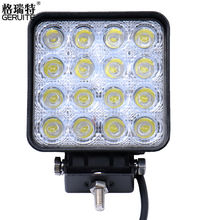 2016 48W LED Work Light for Indicators Motorcycle Driving Offroad Boat Car Tractor Truck 4x4 SUV ATV Flood 12V 24V(China (Mainland))