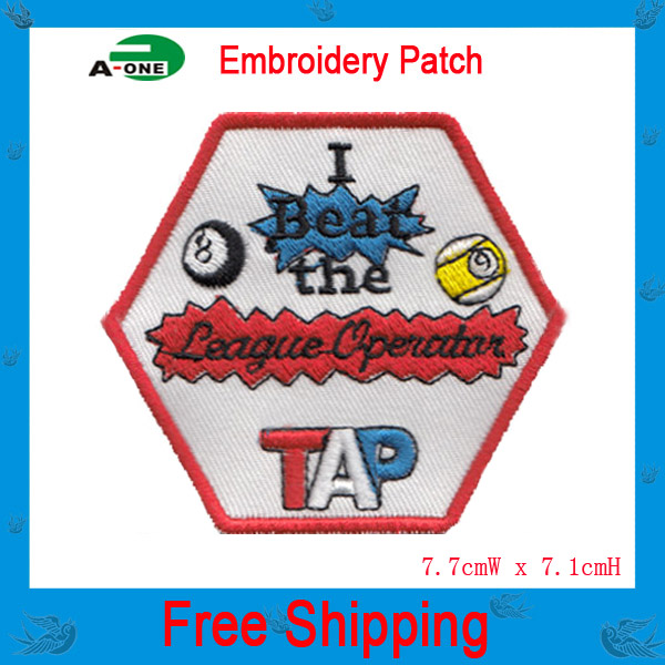 """3"""", Emb 75%, Embroidered Patches in Cartoon Design, Adhesive Back, Suitable for Promotional Gifts, MOQ20pcs,free shipping(China (Mainland))"""