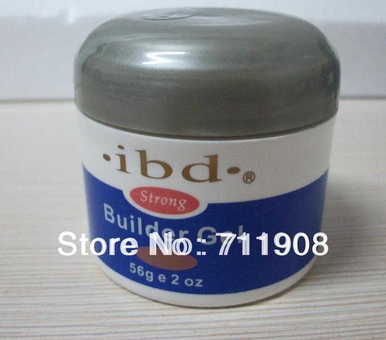 Free shipping ibd Nail Art UV Gel nail nail art IBD Builder Gel 2oz / 56g pink color(China (Mainland))