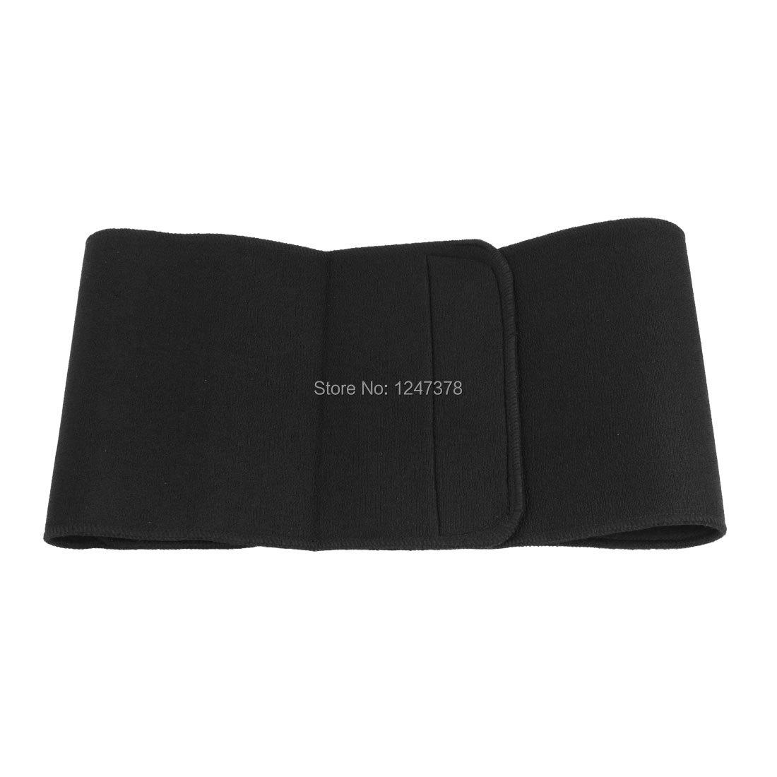 Compressive Neoprene Waist Support Pain Brace Belt Black(China (Mainland))