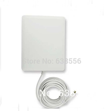 Alta calidad wifi 2.4 ghz antena panel 14dbi antena direccional al aire libre 10 m de cable(China (Mainland))