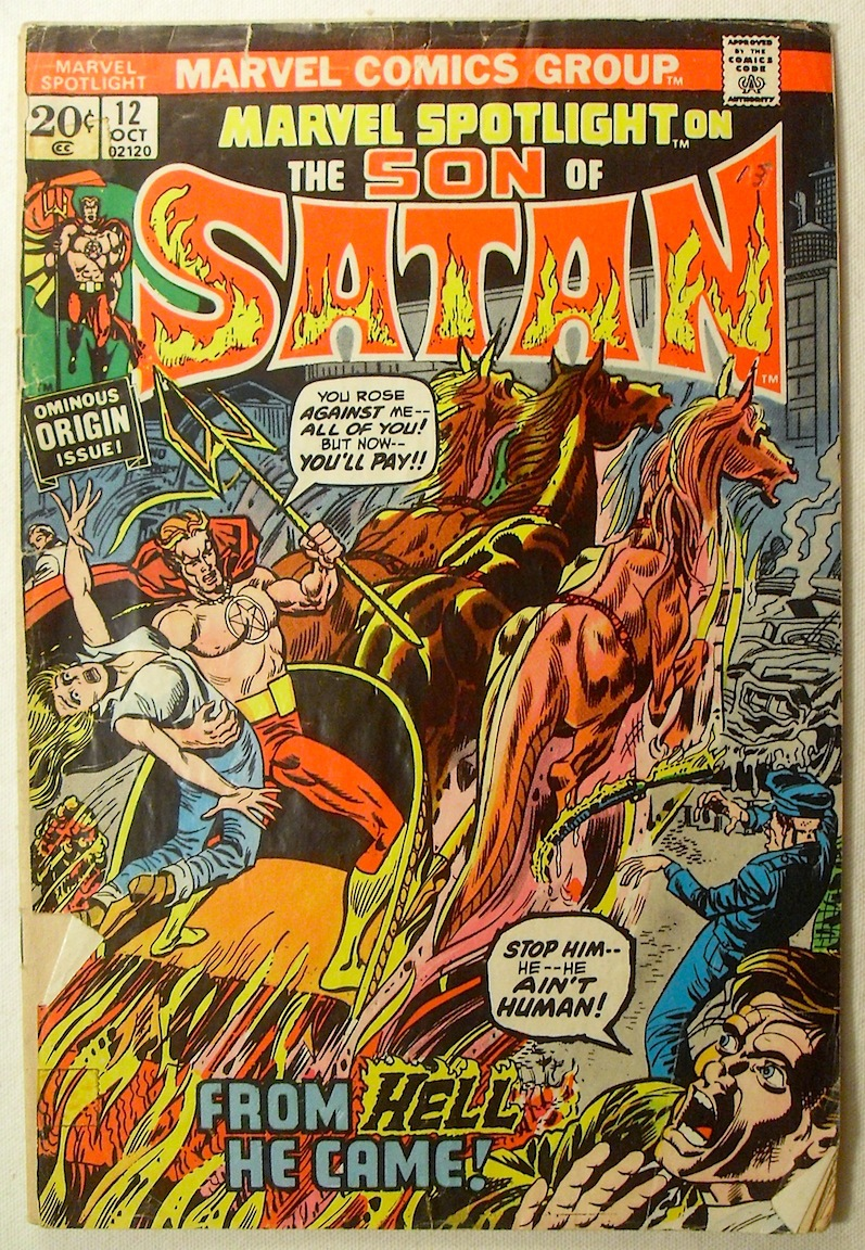 OEM SON OF SATAN avengers DC marvel nos comics vintage large wall wallpaper  stickers Mural customized. Compare Prices on Dc Marvel Wallpaper  Online Shopping Buy Low