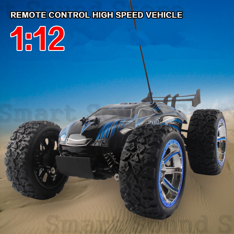 2015 Brand New Christmas Gifts For Kids1/12 Scale Electric RC Monster Truck Off Road 2.4Ghz 4WD High Speed Remote Controlled RTR<br><br>Aliexpress