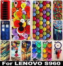 Новый живопись жесткий телефон чехол для Lenovo Vibe X S960 S968t мобильный телефон сумки и чехол