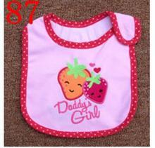 Baby Bibs Cotton Bandana Bibs Infant Babador Saliva Bavoir Towel baberos bebes Babadores Newborn Baby Girls Boys 2pcs/lot  xwd87