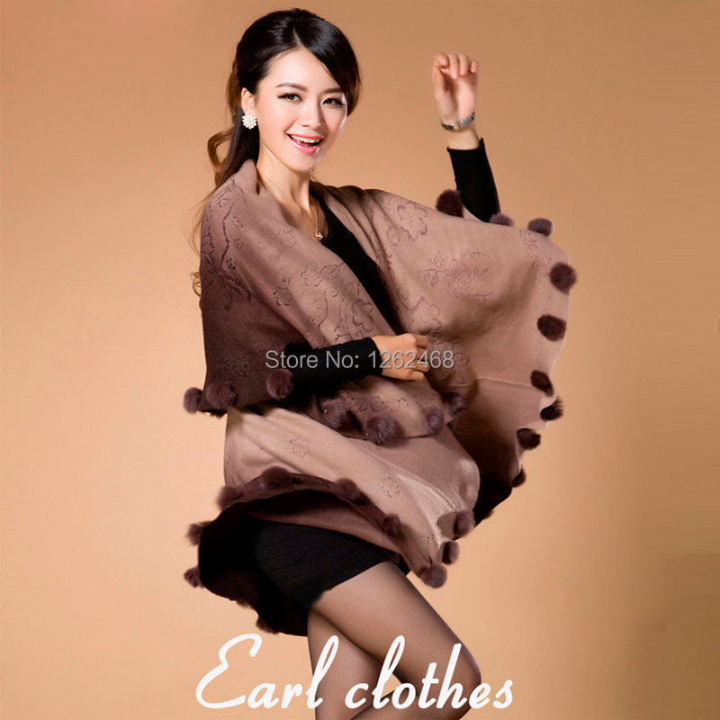 new Fashion spring autumn winter cloak mother gift shawl cape cashmere sweater women warm outerwear cardigan clothing(China (Mainland))
