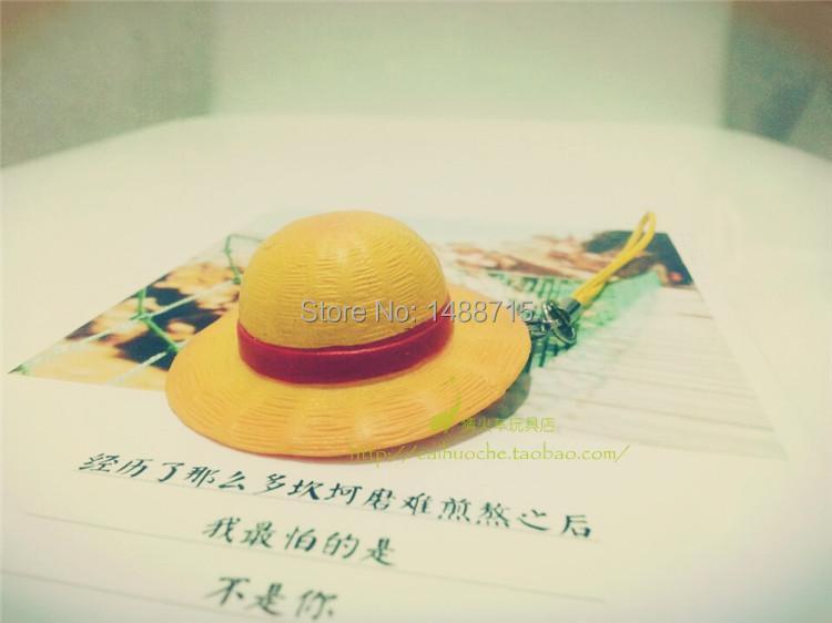 Classic Anime Eiichiro Oda One Piece Monkey D. Luffy Straw Hat Pirate Group Luffy Mini Straw Hat Figurine Pandent Pendant Toys(China (Mainland))