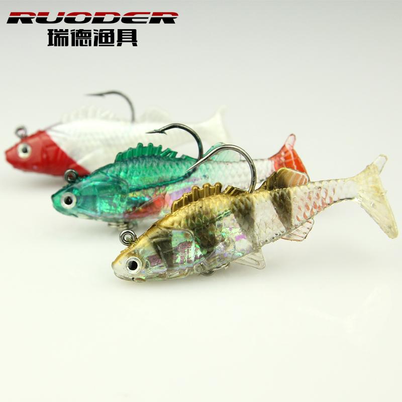 2015 New fish soft bait Ice Saltwater Minnow Spinners Fishing Lures Soft Plastic Fishing Lures Baits Shads pesca(China (Mainland))