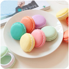 6 pcs/Lot Mini clips dispenser Macaron storage box Candy organizer for eraser zakka Gift Stationery Office school supplies 5028(China (Mainland))