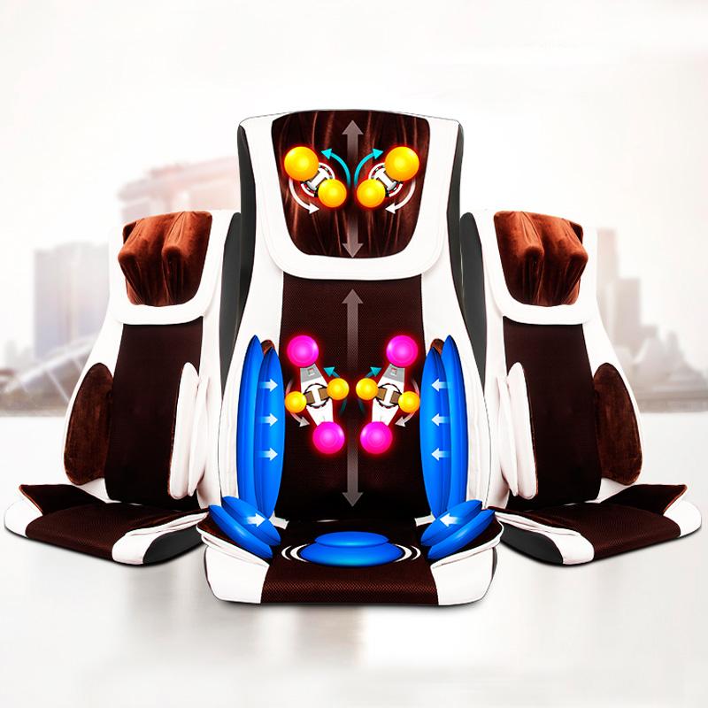 Free shipping&Wholesale Massage relaxation machine, Shiatsu Massage Full Body Kneading Infrared Massage Chair