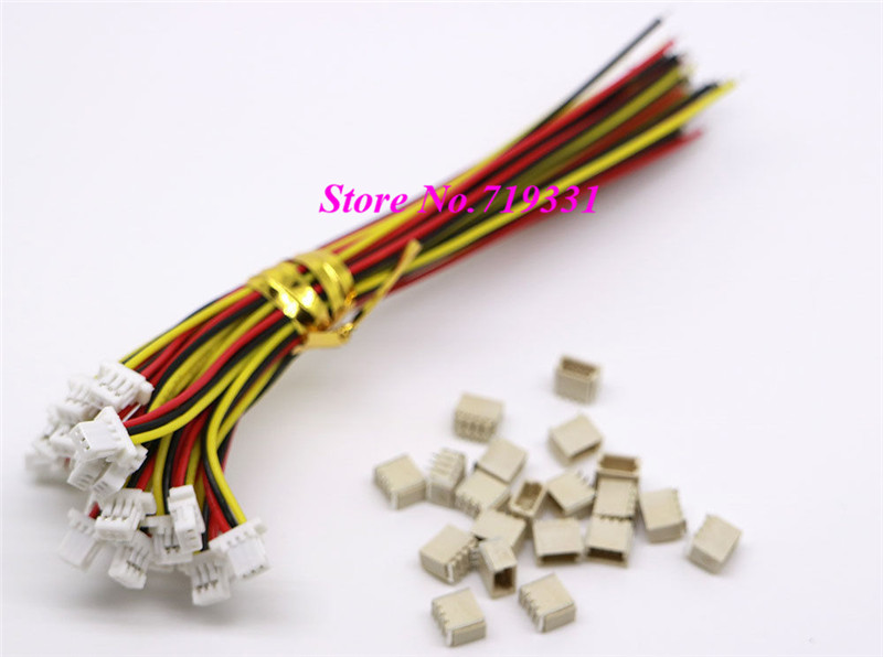 Mini Micro SH 1.0 3-Pin JST Connector with Wires Cables 1000X<br>