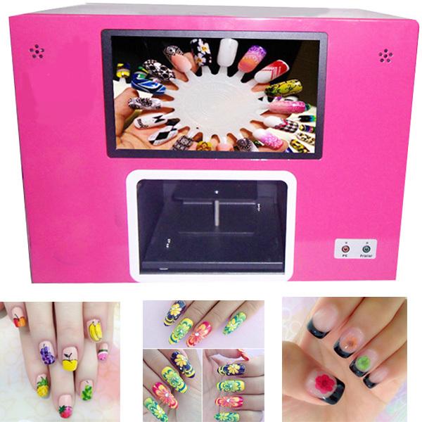 NEW 2015 CE approved  free shipping fashion Nail Salon Tool nail printing machine nail art machine digital nail printer<br><br>Aliexpress