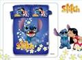 Lilo Stitch 100 cotton girls Boys Blue Duvet Comforter Cover Sets for Kids Bedding Sets 1