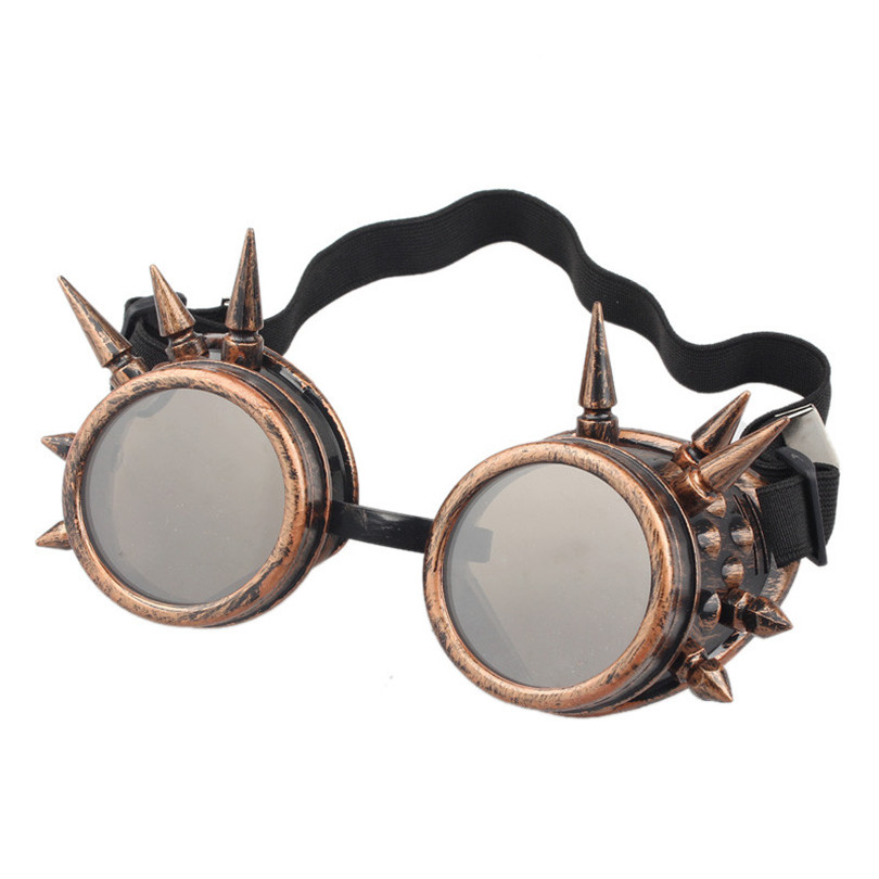 Durable lunette de soleil Rivet Steampunk sunglasses women Windproof for oculos Mirror Vintage Gothic Glasses oculos luneta(China (Mainland))
