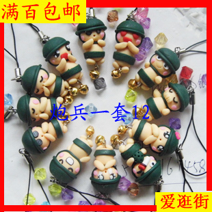 New year gift small gift polymer clay cell phone accessories night market